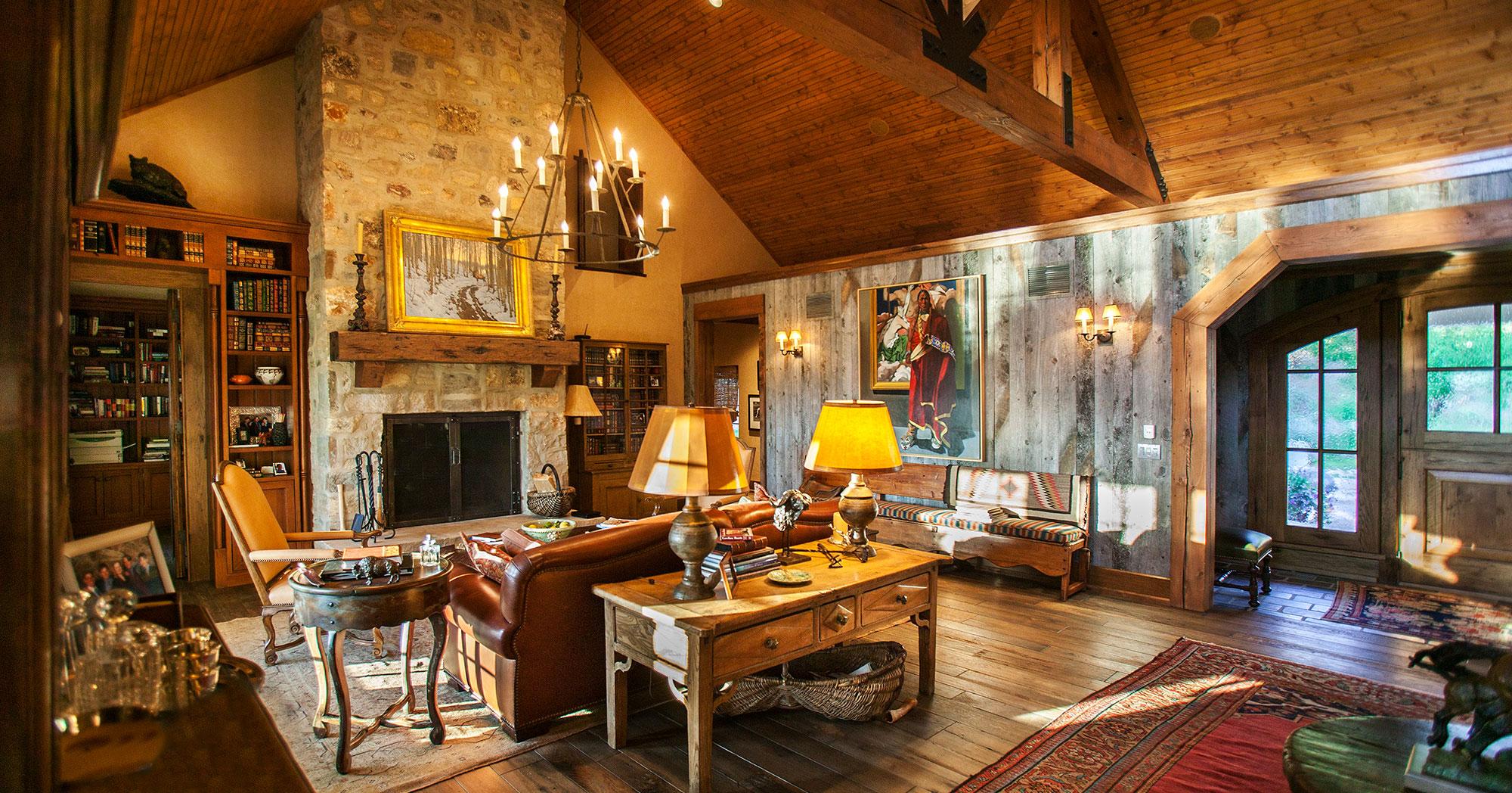 Mountain Ranch Colorado Great Room