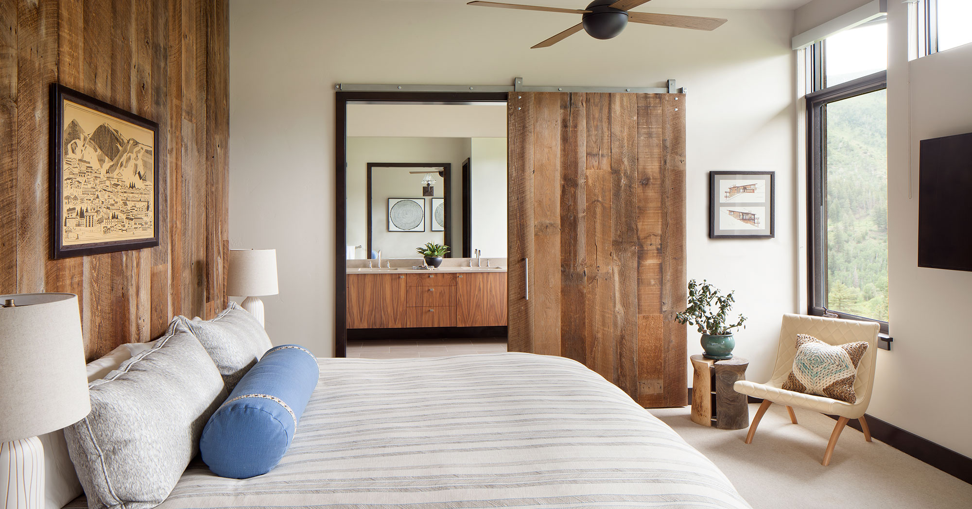 Alpine Bedroom Mountain Contemporary