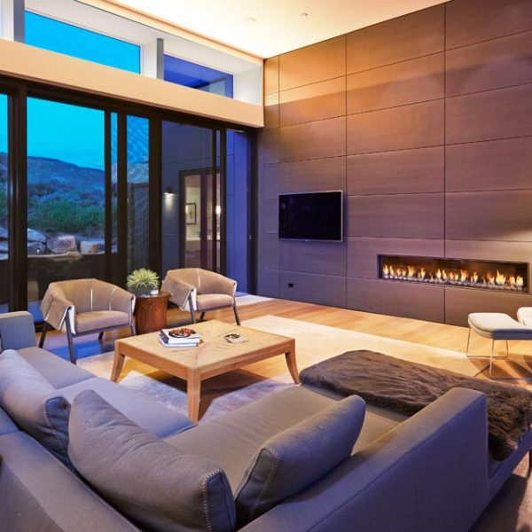Vail Mountain Custom Modern Great Room