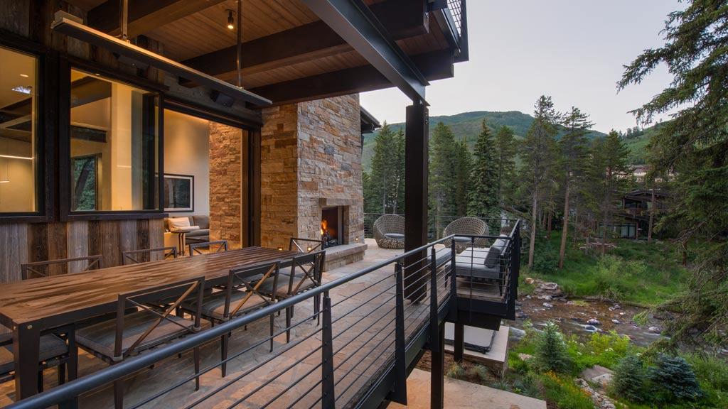 Beaver Dam Road Home Building Vail Colorado VCB