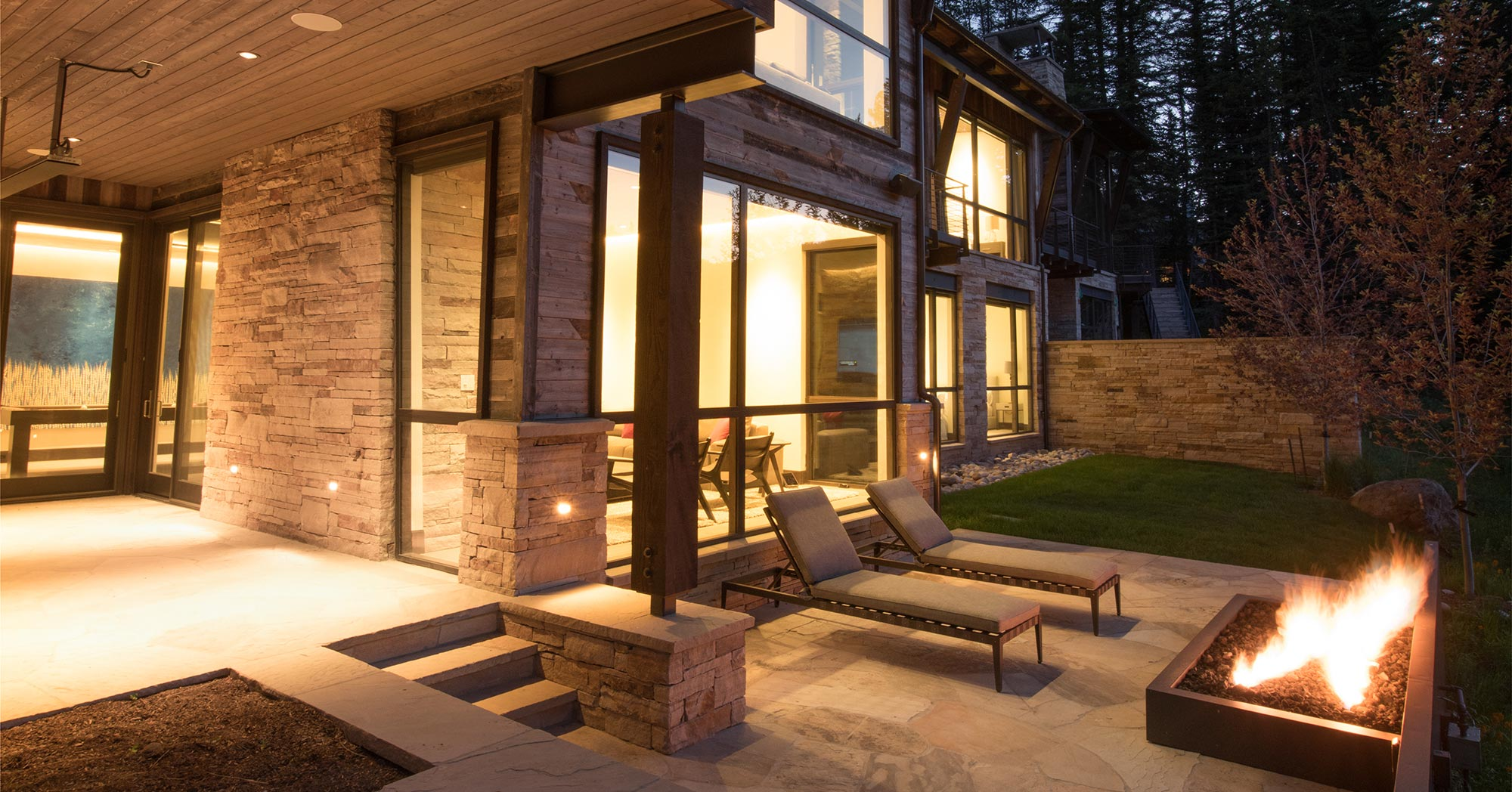 Beaver Dam Road Custom Deck Vail Custom Builders