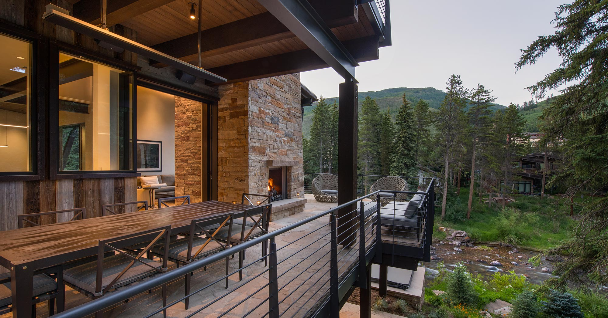 New Exterior Deck Vail CO Beaver Dam Road