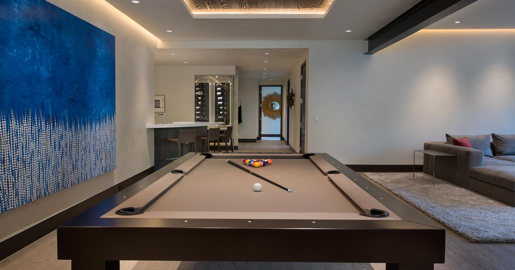 Custom Game Room Beaver Dam Road Vail CO