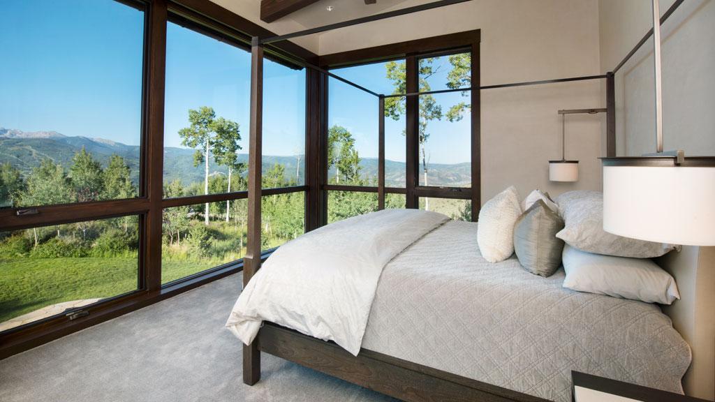 Custom Homes Avon, Colorado Mountain Star Featured Bedroom