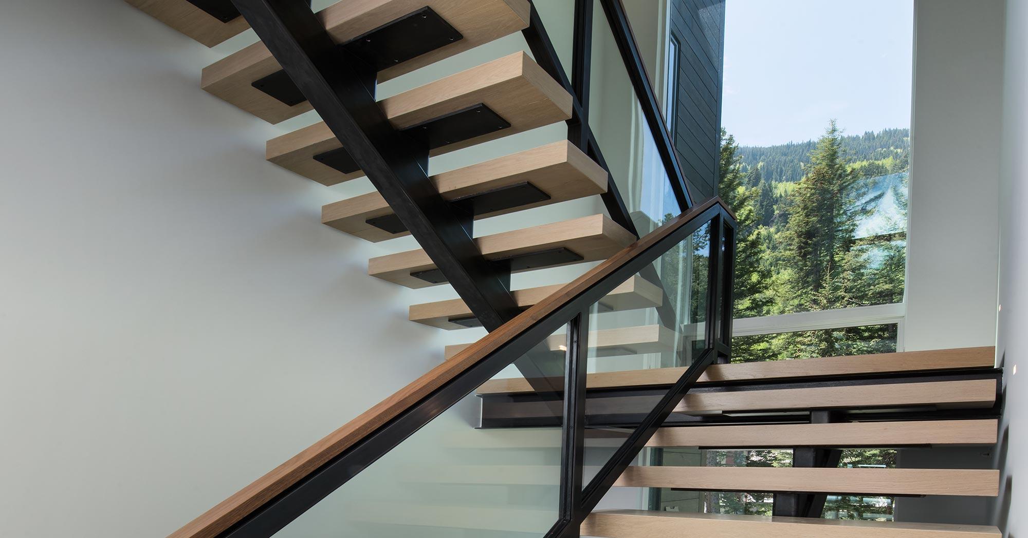 New Construction Custom Staircase Vail Custom Builders