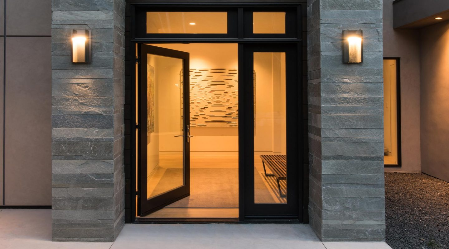 East Vail Mountain Modern Custom Entry