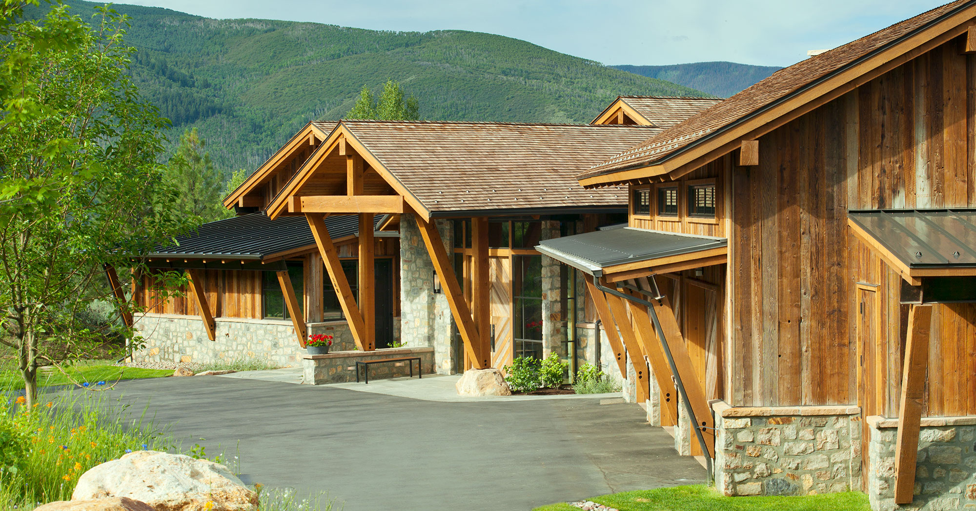 Custom Driveway Berry Creek Ranch with Ski Views
