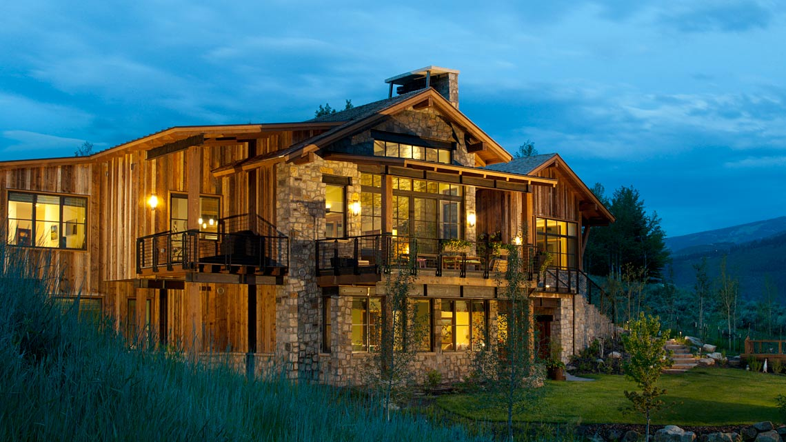 Mountain Contemporary New Construction Edwards, co