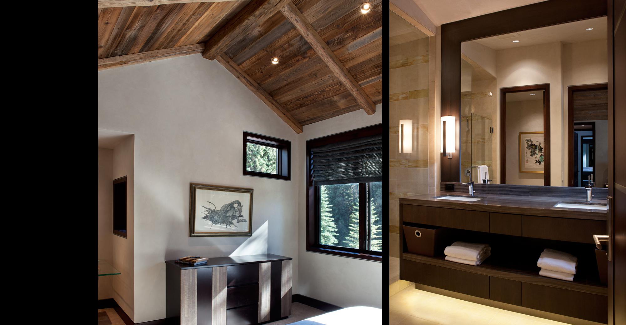 Vail Village Custom Home Bedroom