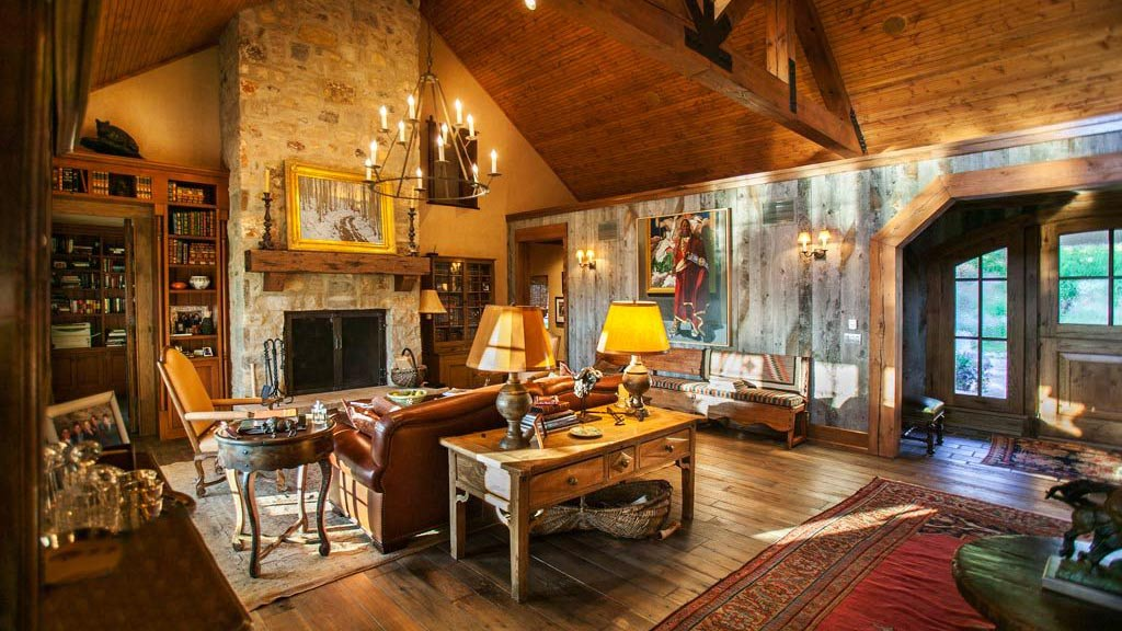 Mountain Ranch Colorado Great Room