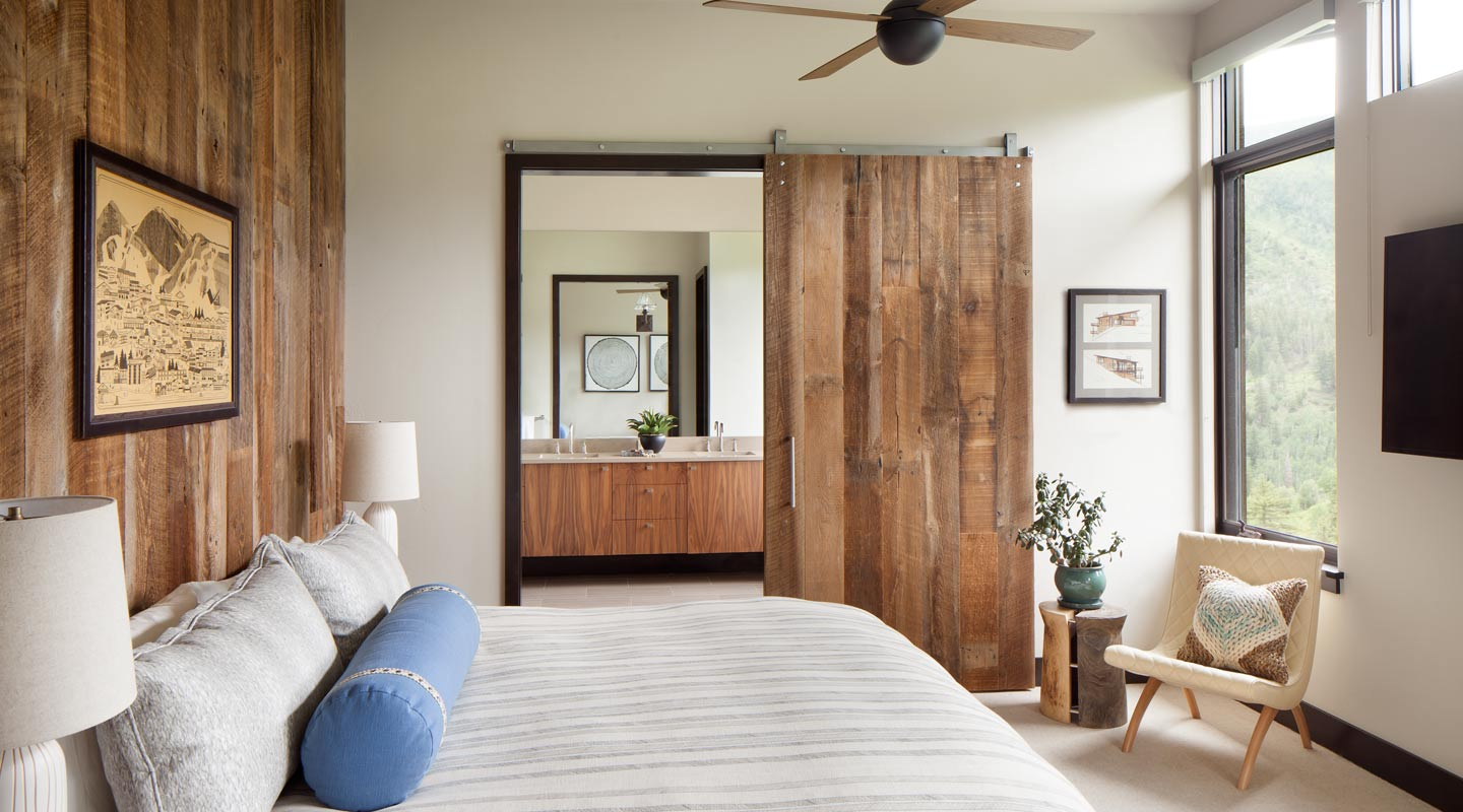 Bedroom Custom Design Vail Colorado Cortina