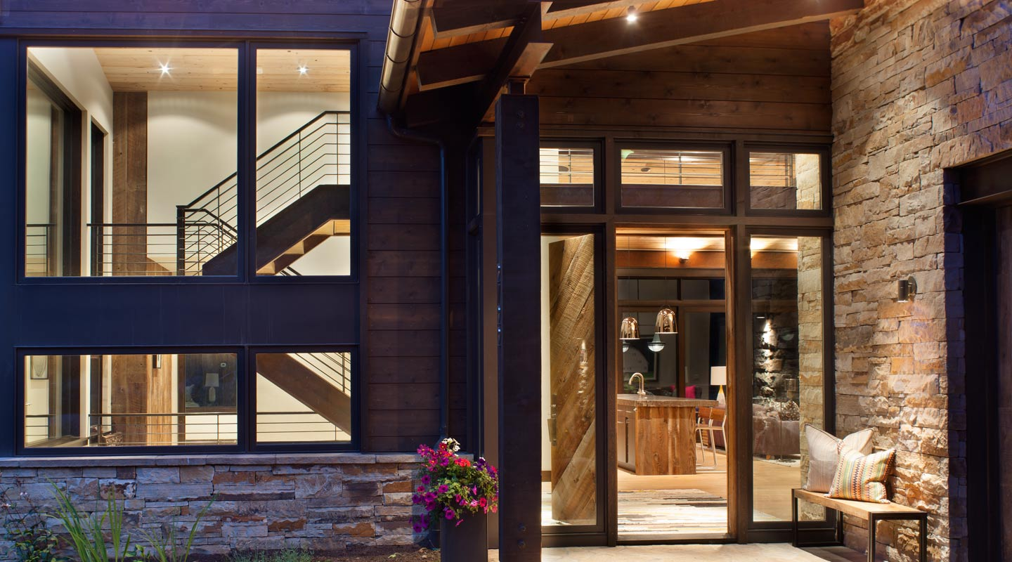 Vail Custom Builders Cortina Exterior Entry