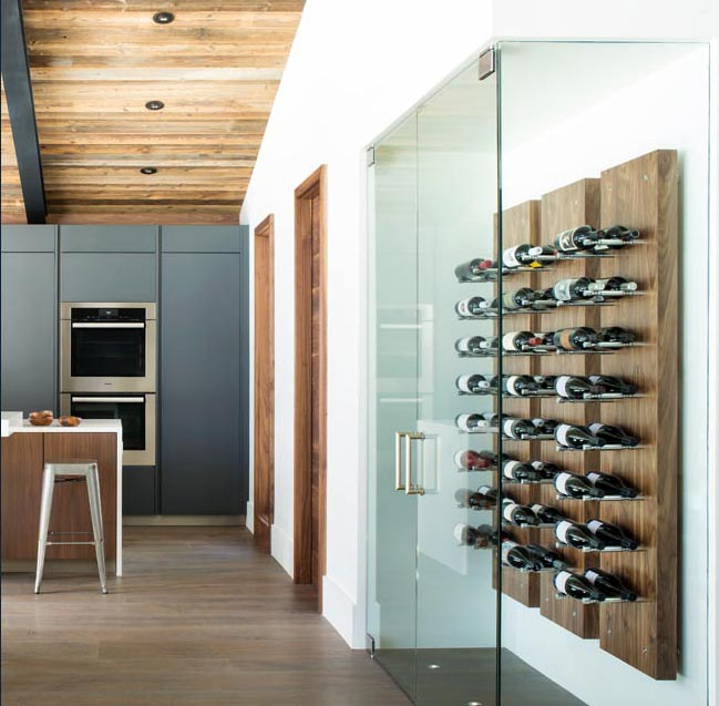 Vail Interior Design Wine Rack