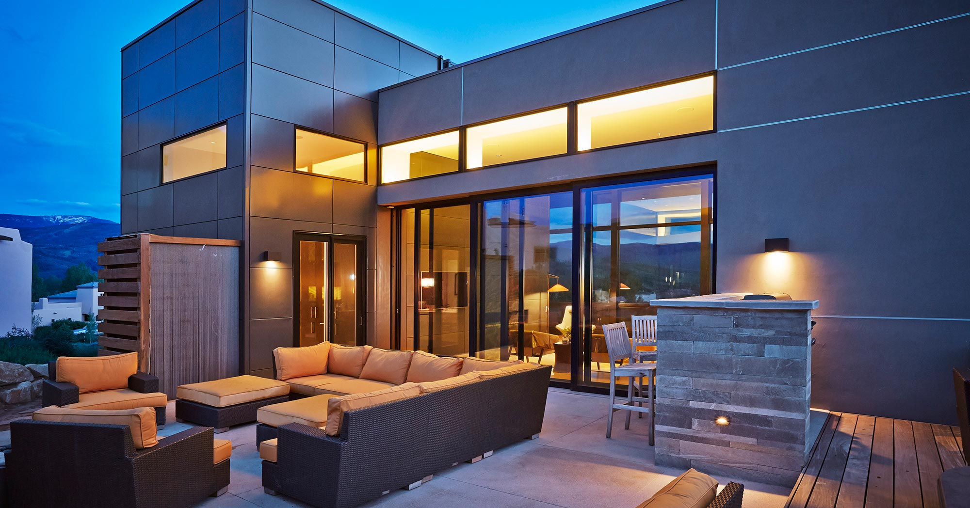 Edwards Colorado Remodel Mountain Modern Vail Custom Builders