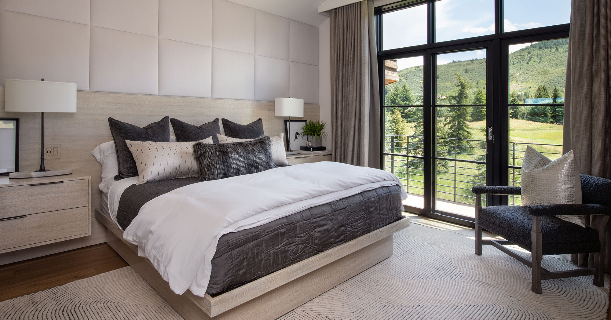 Master Bedroom Luxury Golf Course Edwards CO