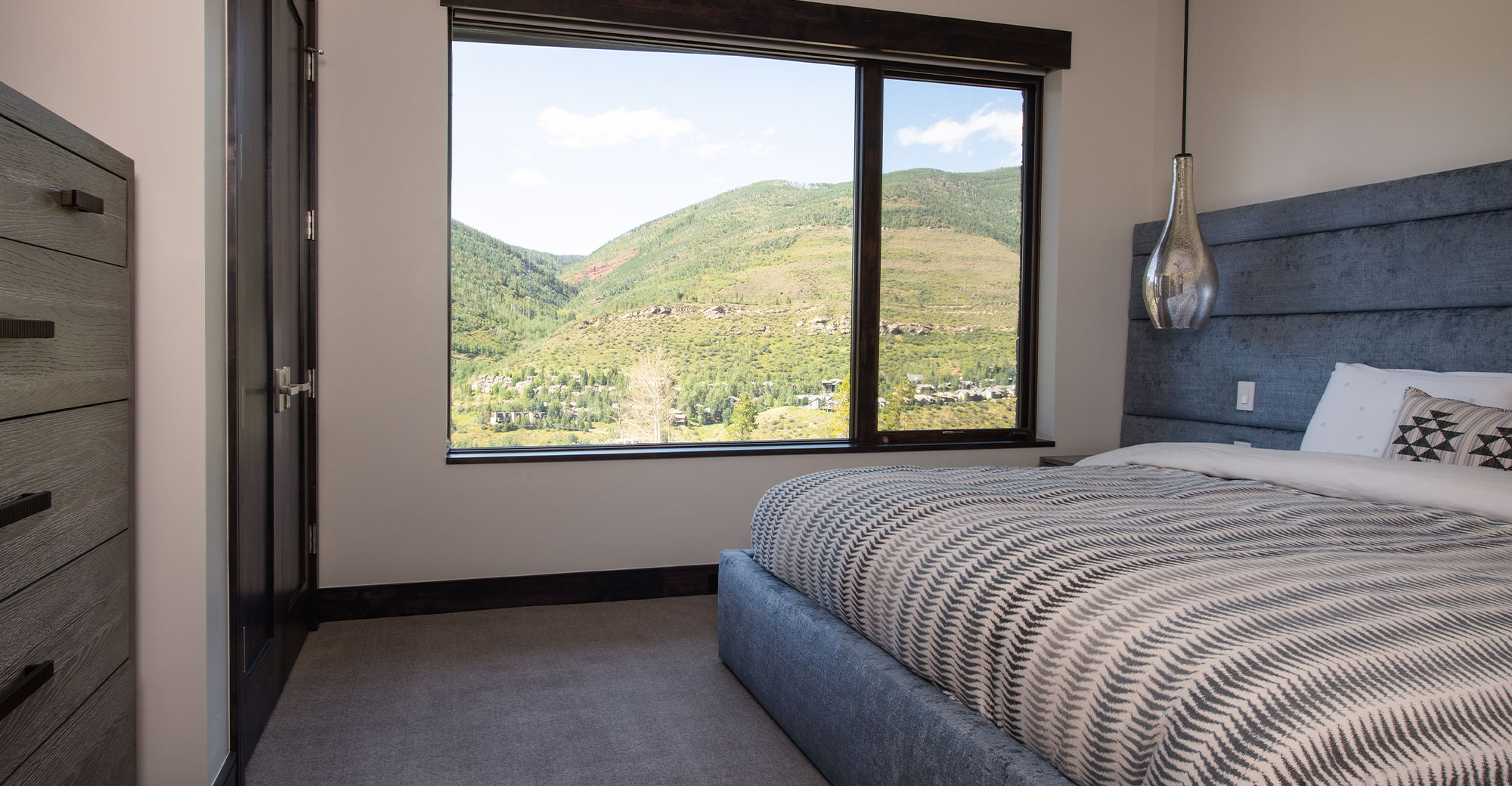 Vail Mountain Bedroom with Mountain Views Alpine Drive Vail