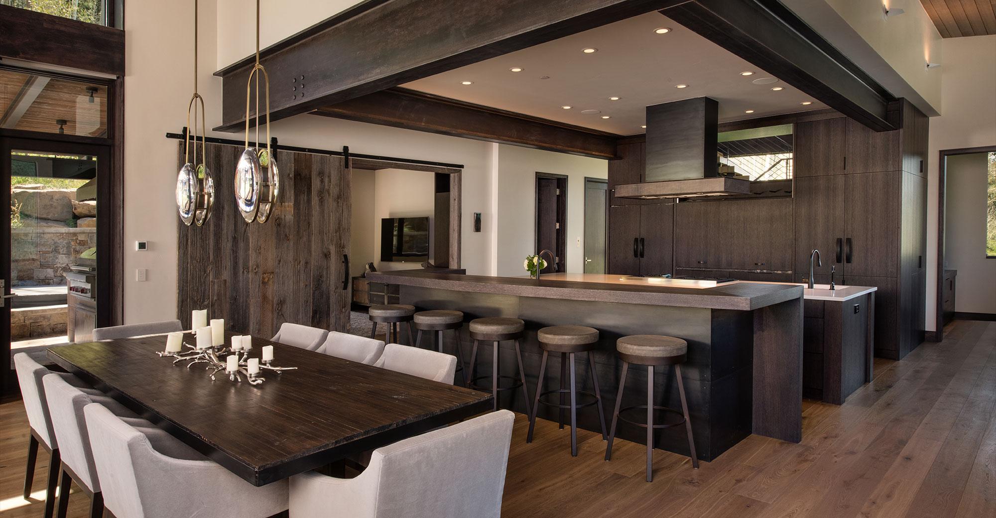 Vail Custom Builders custom dining room