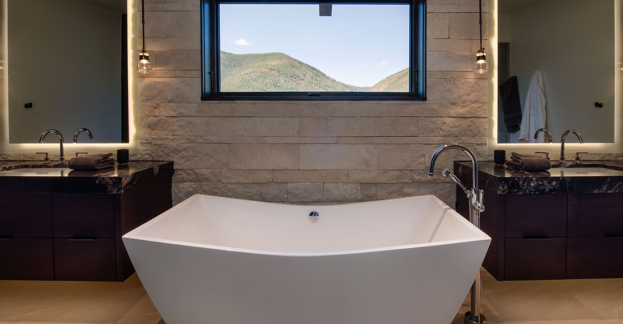 Master Bath Vail Colorado Alpine Drive Vail