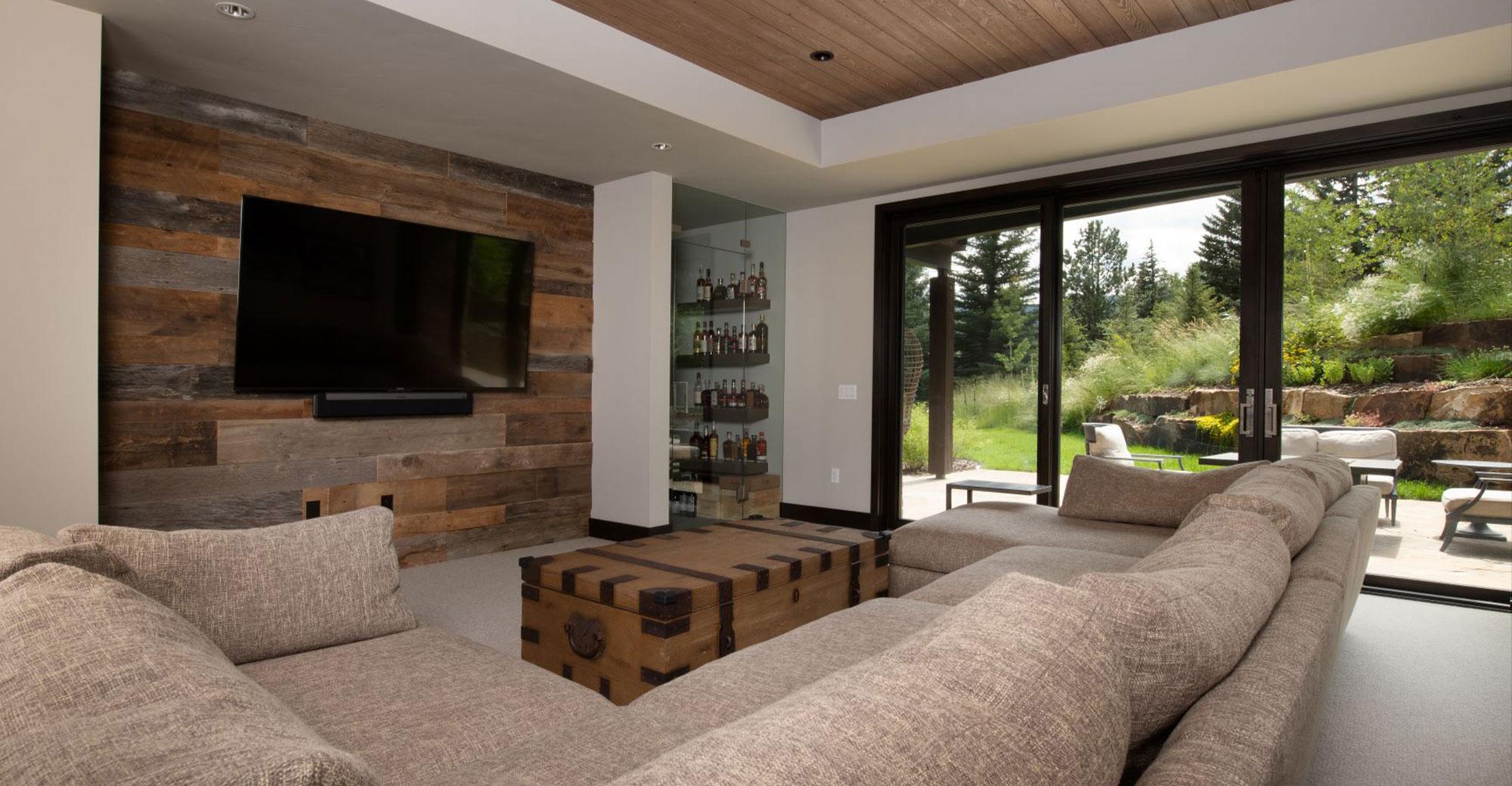 Chamonix Vail New Construction Family Room