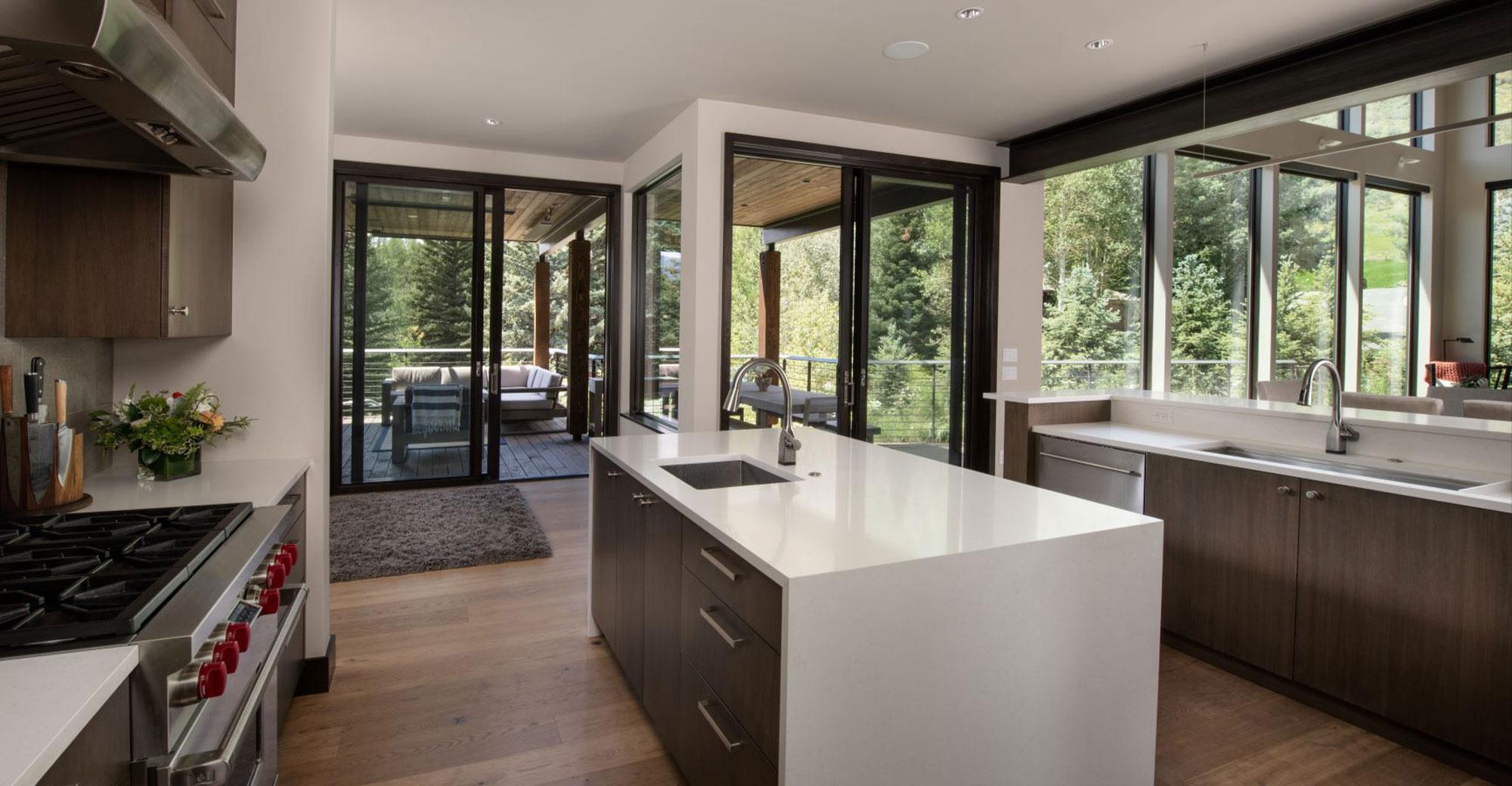 Chamonix Mountain Contemporary Kitchen 2