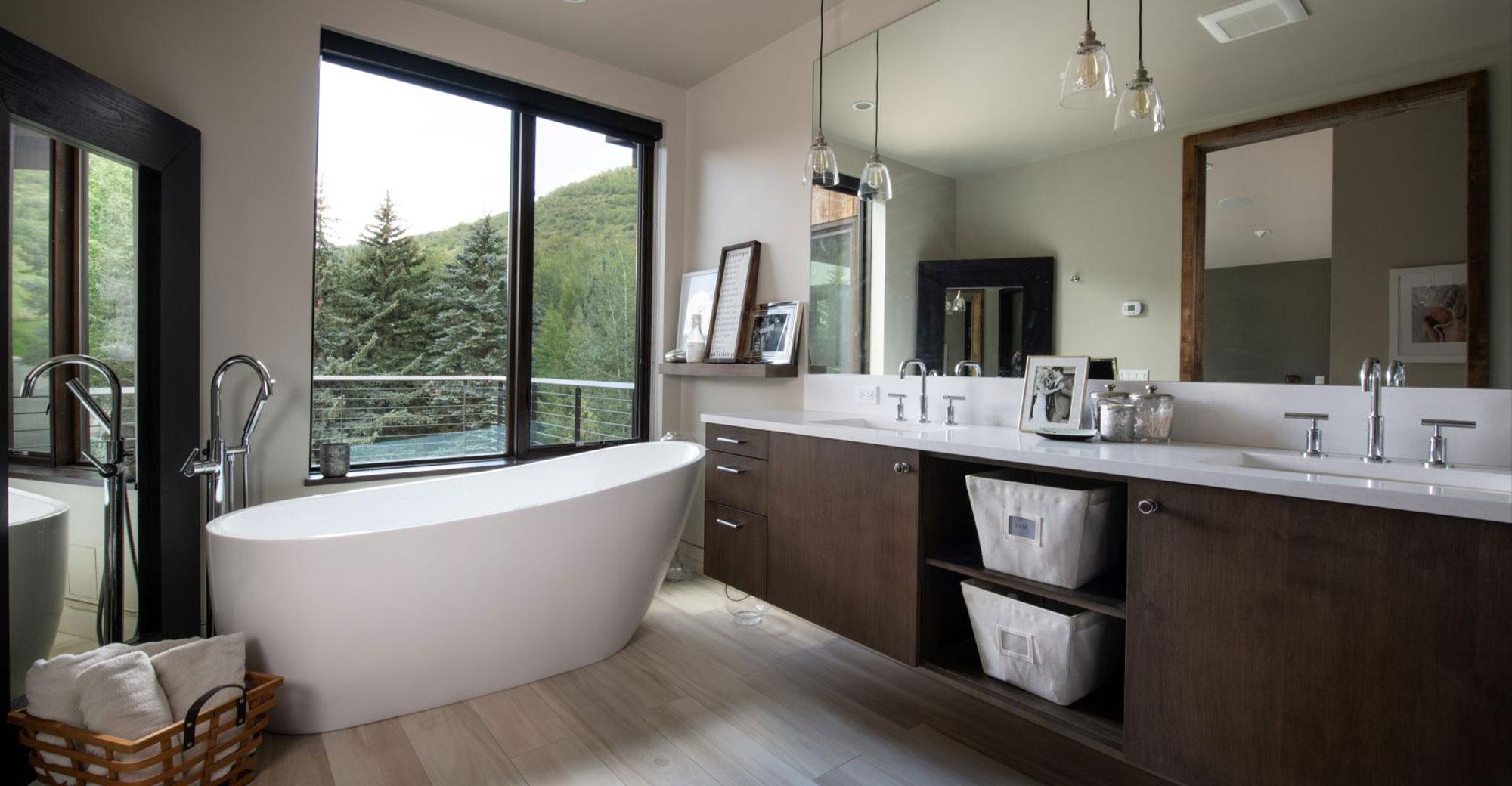 Chamonix Vail New Construction Bathroom 1